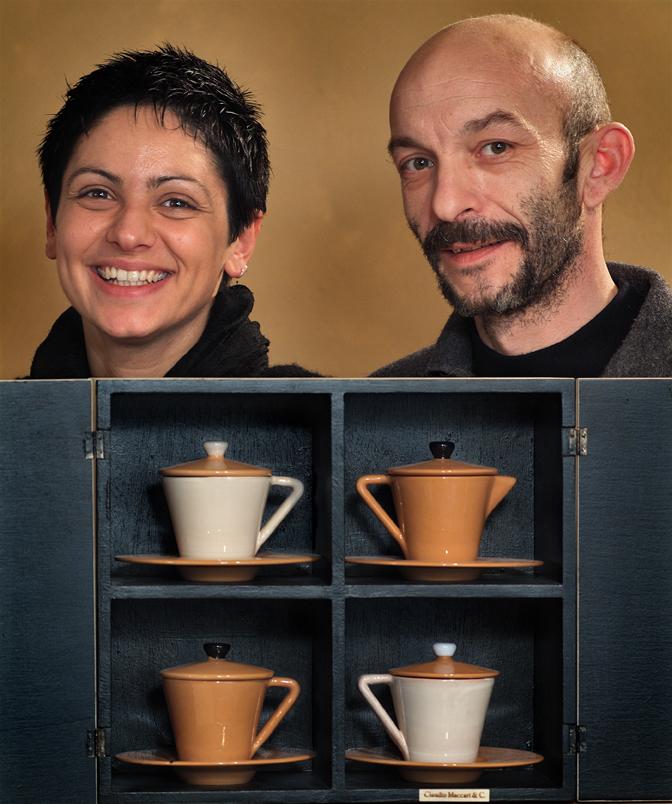 Claudio Maccari e Giulia Boscagli
